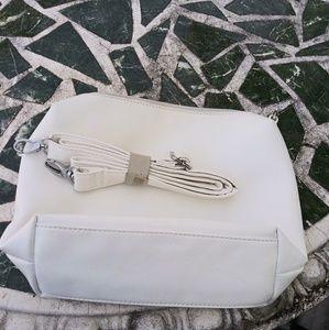 NWOT Carlos Santana Beautiful White Bag